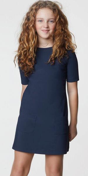 Image of LaDress Alana jersey lycra dress blue