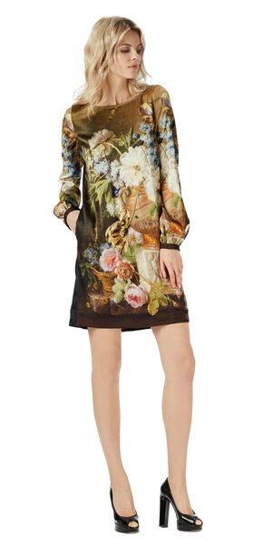 Image of LaDress Art Dress silk dress print