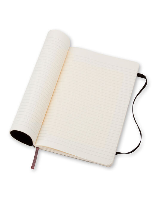 Notebook Large Ruled Soft Cover -  - large