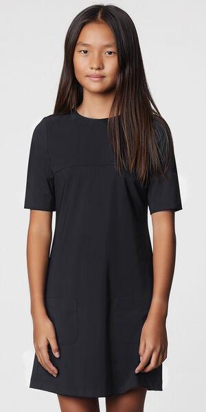 Image of LaDress Alana jersey lycra dress black