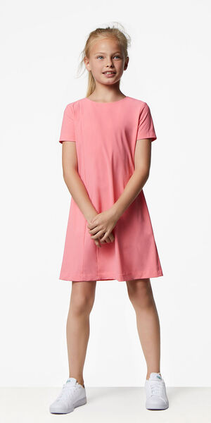 Image of LaDress Ariel jersey lycra dress pink