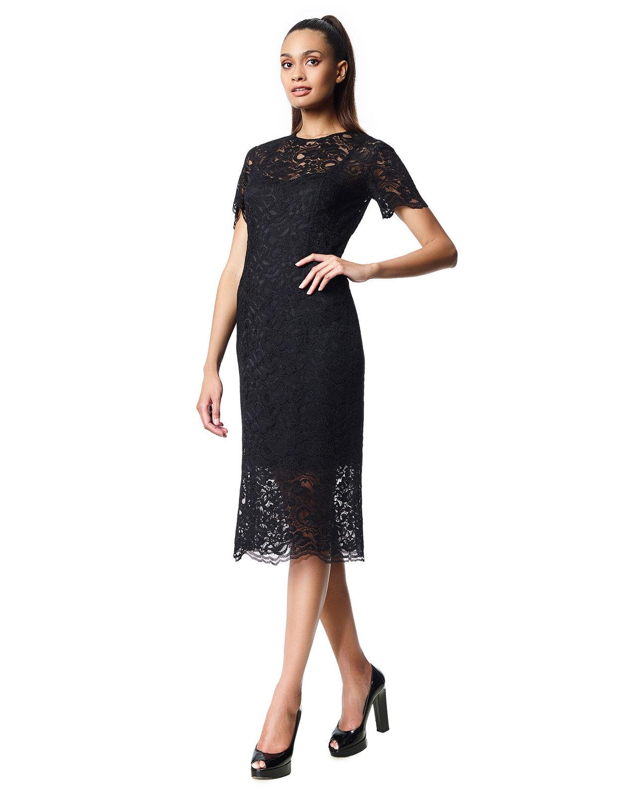 Abbildung von LaDress Adriana spitze kleid schwarz