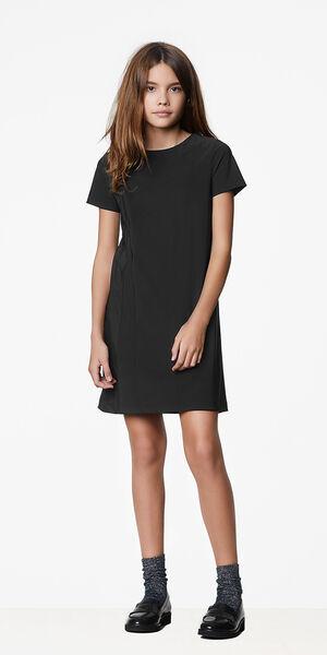 Image of LaDress Ariel jersey lycra dress black