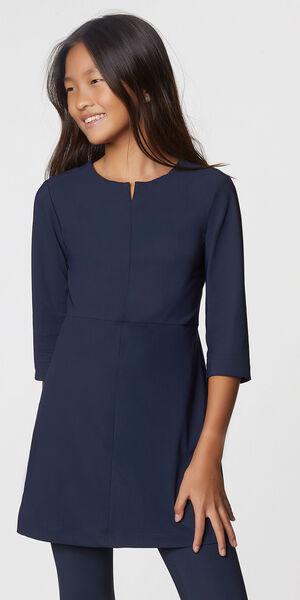 Image of LaDress Anastasia jersey lycra dress blue