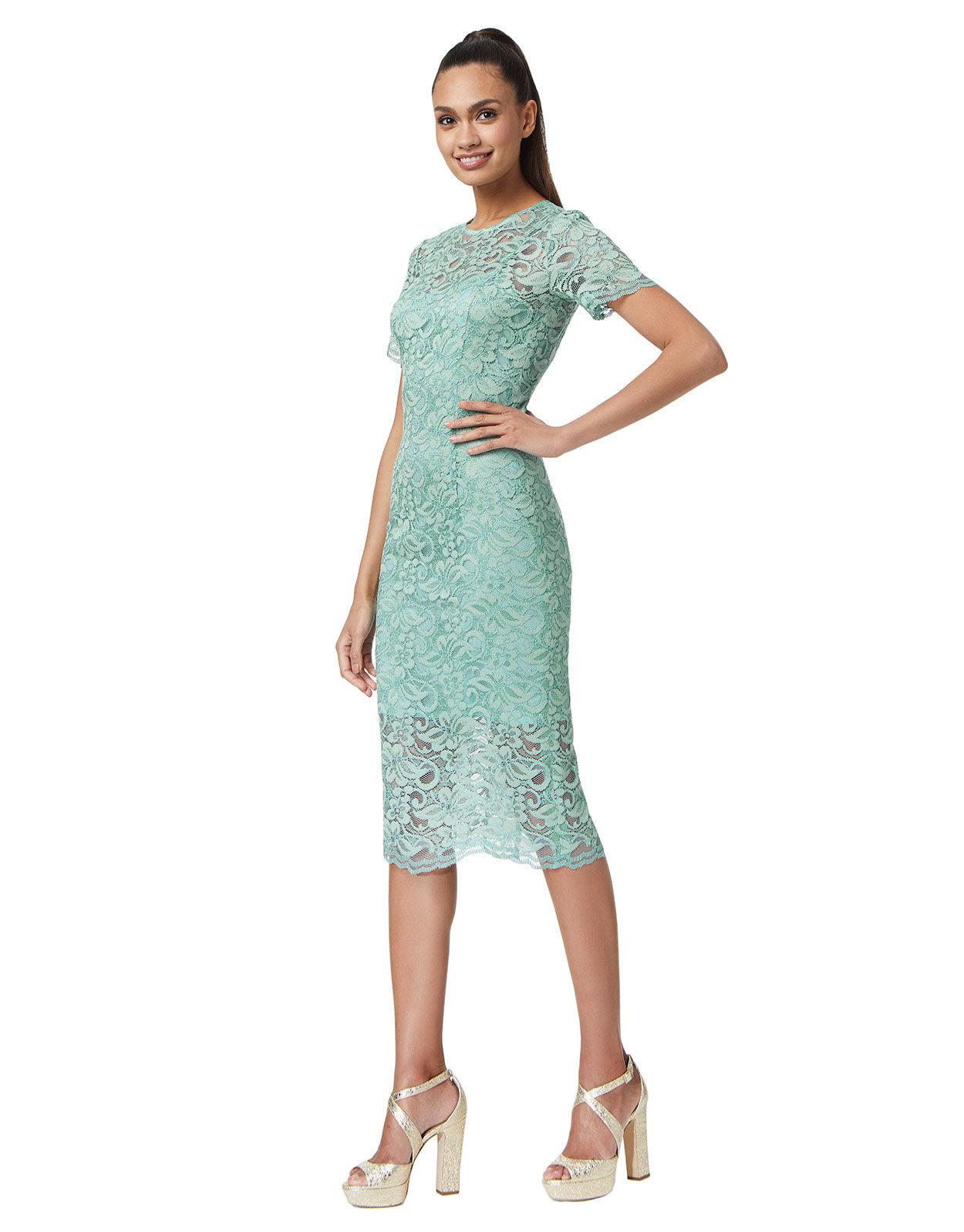 Abbildung von LaDress Adriana spitze kleid grün