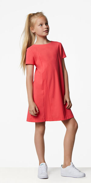 Image of LaDress Ariel jersey lycra dress orange