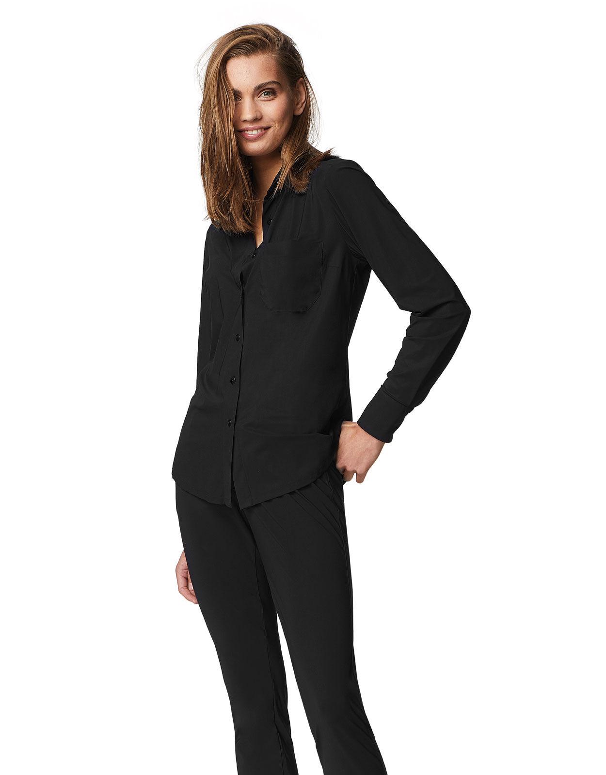 Abbildung von LaDress Annie bluse aus jersey lycra schwarz