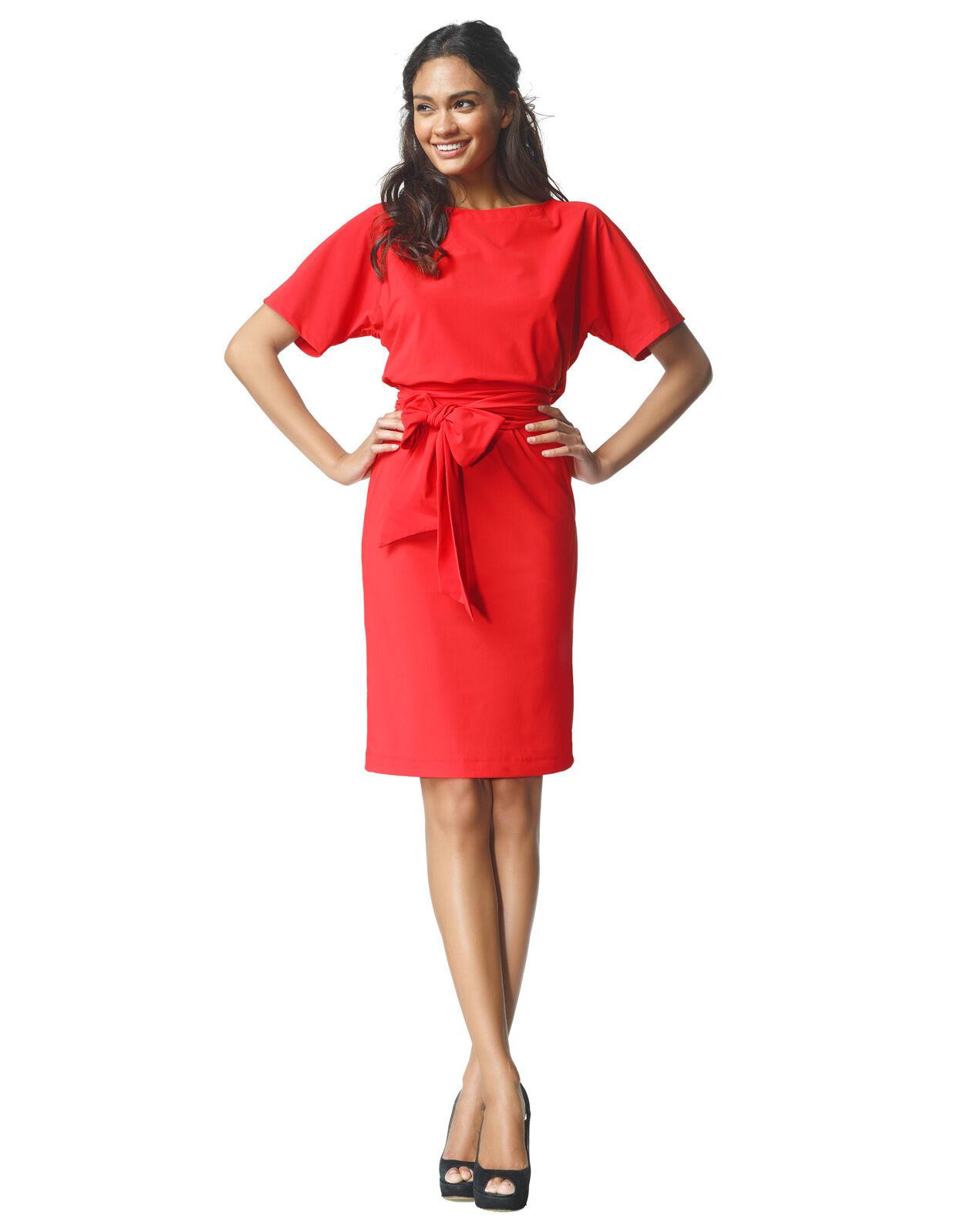 Abbildung von LaDress Aretha jerseykleid rot