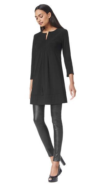 Image of LaDress Alison jersey lycra dress black