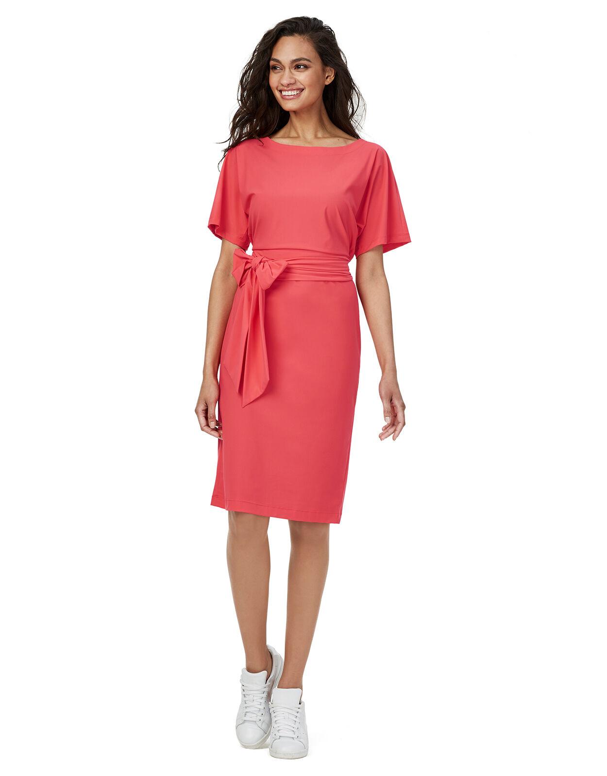 Abbildung von LaDress Aretha jerseykleid orangepink