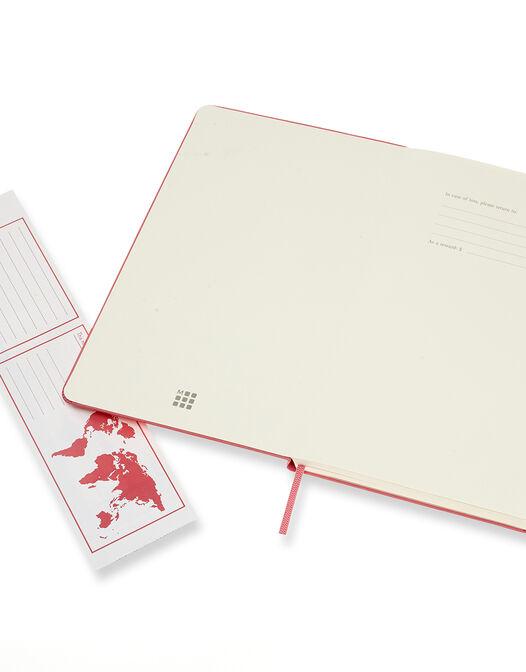 Notebook Large Ruled Hard Cover -  - large